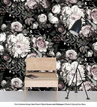 Elliecashmandarkfloraliiblackdesaturatedwallpaperphoto_stylingellenmesu_1
