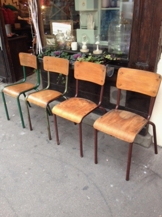 Chaises Ecoliers 3