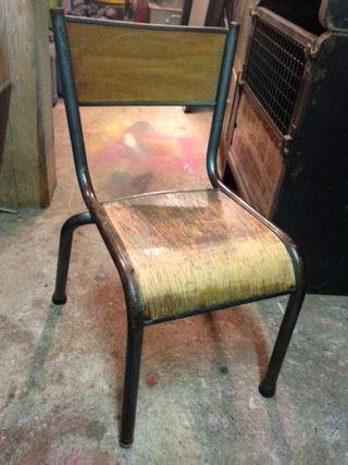 Chaise écolier couleur 1